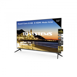 Smart TV 4K 50 pulgadas TD Systems